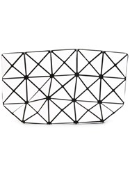 Issey Miyake Bao Bao Triangles Make Up Bag White