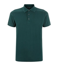 Kiton Pique Cotton Polo Shirt