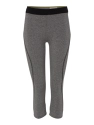 Label Lab Marl Leggings Charcoal