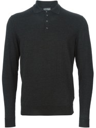 Drumohr Polo Sweater Grey
