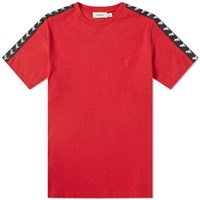 Coach Rexy Taped Tee Red