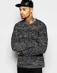 Religion Twisted Yarns Knitted Jumper Black