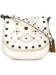 Coach 'Western Rivets' Crossbody Bag Nude Neutrals