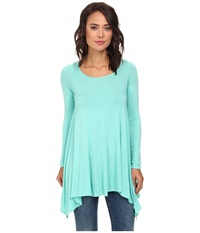 Culture Phit Julie Tunic Mint Women's Blouse Green