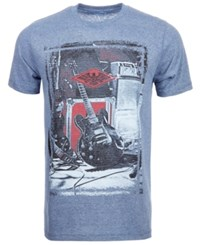 Univibe Guitar T Shirt By Med Blue