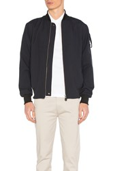 Fred Perry X Art Comes First Bomber Jacket Navy