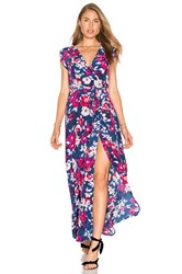 Yumi Kim Swept Away Maxi Dress In Garden Blue