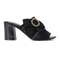 Dolce And Gabbana Knot Mules Black Black
