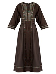 Max Mara Arlem Dress Dark Brown