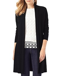 Phase Eight Lili Longline Cardigan Black