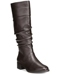 Easy Street Shoes Easy Street Cheyenne Tall Boots Women's Shoes Brown