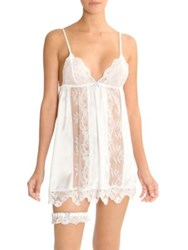 In Bloom Here Comes The Bride Chemise Ivory