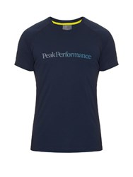 Peak Performance Gallos Performance T Shirt Blue Multi