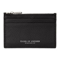 Tiger Of Sweden Black Hampus 2 Card Holder