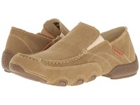 Roper Dougie All Over Tan Men's Shoes Brown