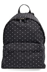 Men's Givenchy Canvas Backpack Black