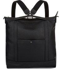 Mulberry Multitasker Grained Leather Backpack Black
