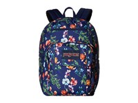 Jansport Digital Student Multi Navy Mountain Meadow Backpack Bags Blue