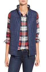 Barbour Women's 'Brae' Qulited Vest Royal Navy