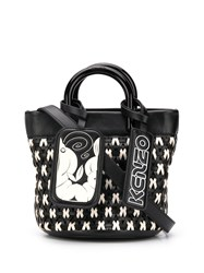 Kenzo Shrimps Mini Tote Black