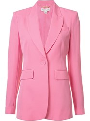 Rachel Zoe Single Button Blazer Pink Purple