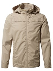 Craghoppers Men's Spelton Waterproof Jacket Stucco