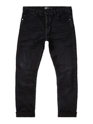 Label Lab Men's Dart Taper Leg Washed Black Jean Washed Black