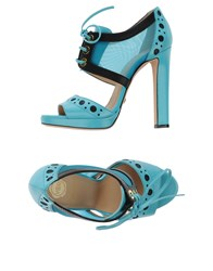 Viktor And Rolf Footwear Sandals Women Turquoise