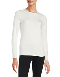 Lord And Taylor Crewneck Tee Ivory