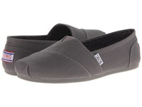 Bobs From Skechers Bobs Plush Peace And Love Charcoal Women's Shoes Gray