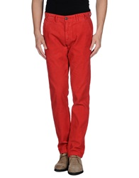 Barbour Casual Pants Red