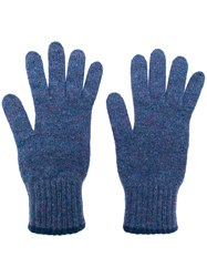 Pringle Of Scotland Textured Cashmere Gloves 60