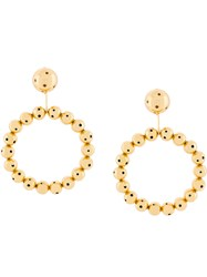 Paula Mendoza Their Earrings Gold Plated Brass Metallic