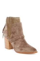 Sigerson Morrison Gianna Contrasting Bootie Brown