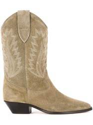 Etoile Isabel Marant Dallin Boots Green