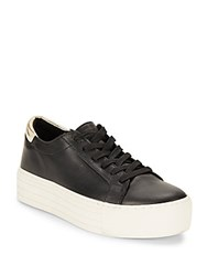 Kenneth Cole Platform Sneakers White