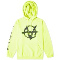 Vetements Anarchy Hoody Yellow