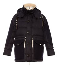 Moncler A Orland Quilted Brushed Cotton Parka