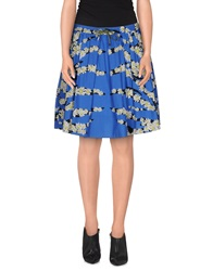 Sportmax Code Knee Length Skirts Blue