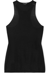 Tom Ford Cashmere And Silk Blend Tank Black