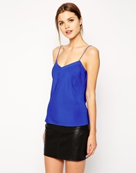 Ted Baker Cami Top With Scallop Edge Detail Brightblue