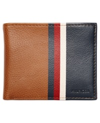 Tommy Hilfiger Bryan Bifold Wallet Saddle