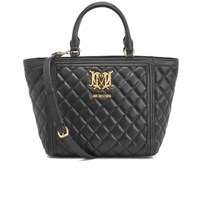 Love Moschino Women's Quilted Tote Bag Black