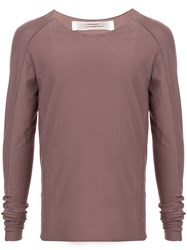 Individual Sentiments Raw Edge Shirt Brown