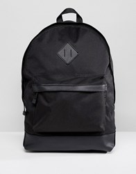 New Look Backpack With Pockets In Black