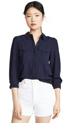 Ayr The Starshine Button Down Navy