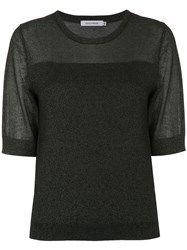 Guild Prime Short Sleeve Fitted Sweater Black