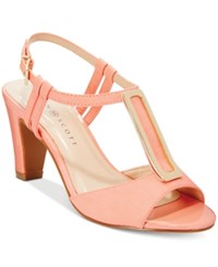 Karen Scott Lorahh Dress Sandals Only At Macy's Women's Shoes Sherbert