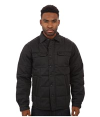 Deus Ex Machina James Overshirt Jacket Black Men's Coat