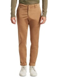 Saks Fifth Avenue Modern Cropped Trouser Sand